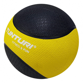 Tunturi Medicine Ball 1kg, YellowBlack