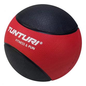 Tunturi Medicine Ball 3kg, RedBlack