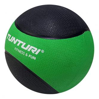 Tunturi Medicine Ball 2kg, GreenBlack