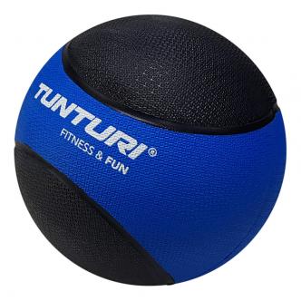 Tunturi Medicine Ball 4kg, BlueBlack