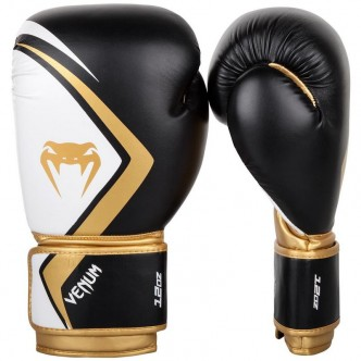 Venum Boxing Gloves Contender 20 - BlackWhite-Go