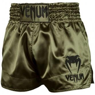Venum Muay Thai Shorts Classic - KhakiBlack