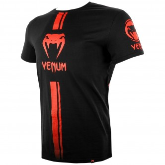 Venum Logos T-shirt - BlackRed