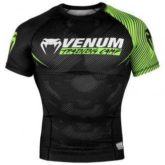 Venum Training Camp 20 Rashguard - Short Sleeves