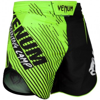 Venum Training Camp 20 Fightshorts - BlackNeo Ye