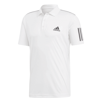 CLUB 3STR POLO      WHITEBLACK02N