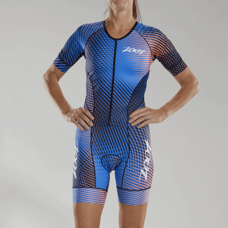 W LTD Tri Aero Full Zip Racesuit PLUS - Stoke - S