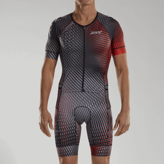 M LTD Tri Aero Full Zip Racesuit PLUS - Stoke - XL