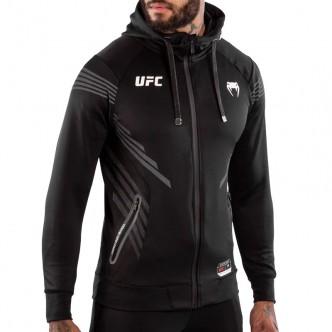 """Venum """"Authentic UFC FightNight"""" Hoodies - Black 0"""